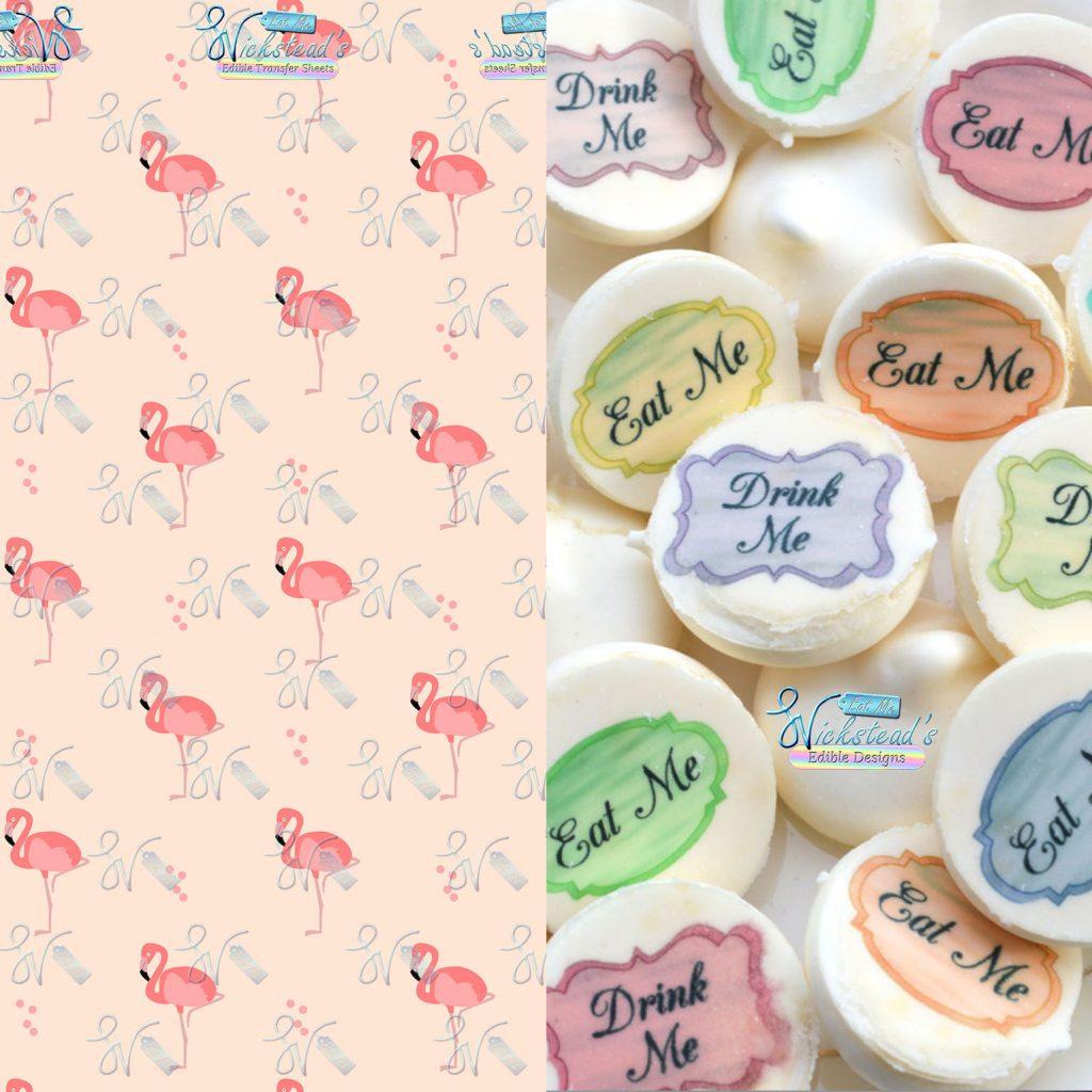Wickstead's-Eat-Me-Edible-Meringue-Transfer-Sheets–Tropical-Pink-Flamingo-(1)