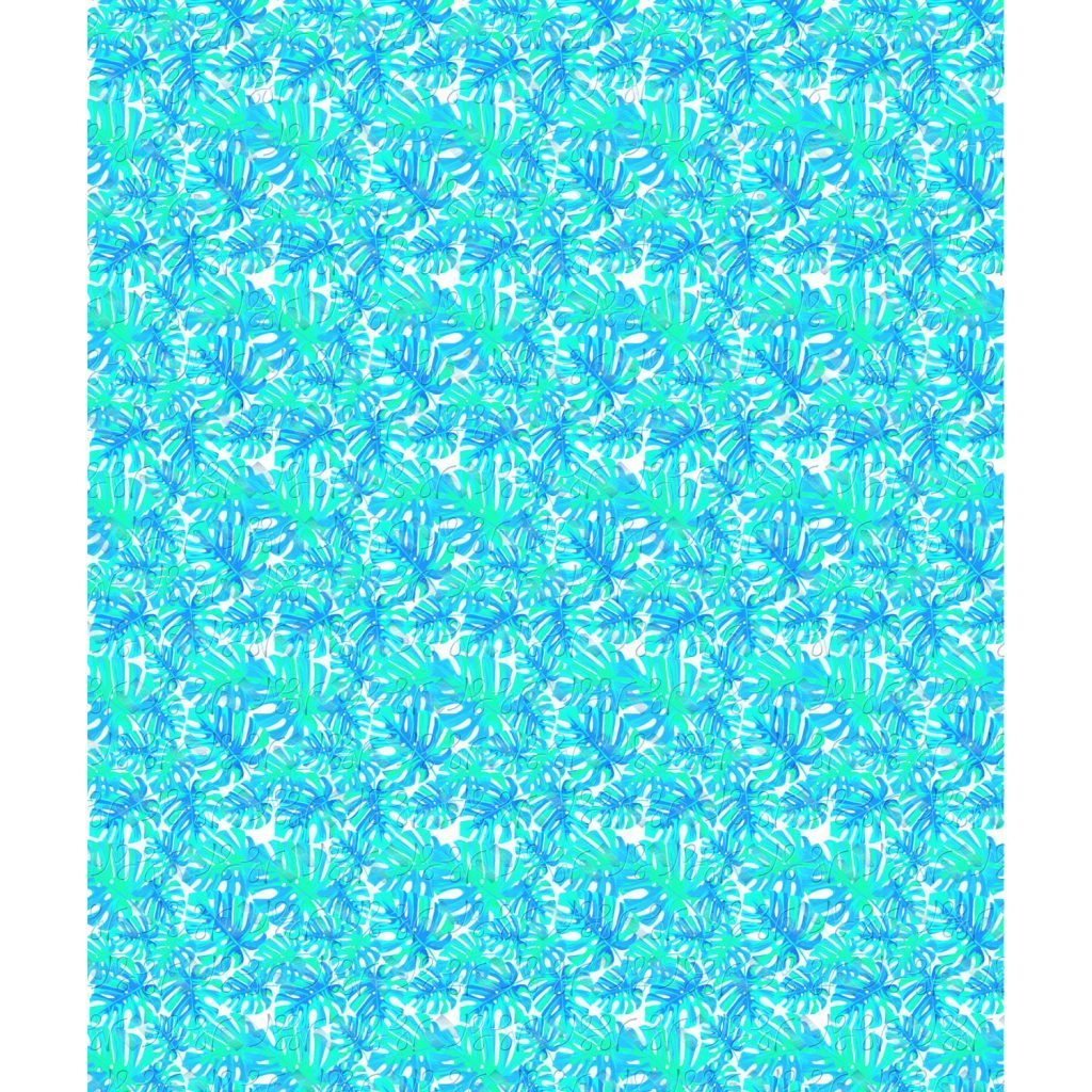 Wickstead's-Eat-Me-Edible-Meringue-Transfer-Sheets–Tropical-Turquoise-Leaves-(2)