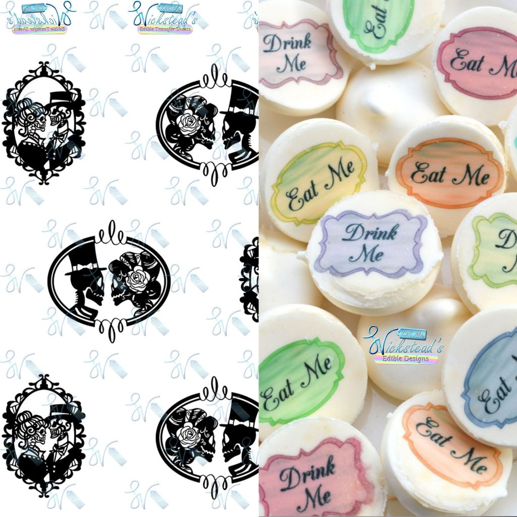 Wickstead's-Eat-Me-Edible-Designs–Meringue-Transfer-Sheets-Chocolate-Transfer–Wedding-Bride-Groom-Til-Death-Do-Us-Part—Gothic-Skeleton-Silhouette-Frames-(1)